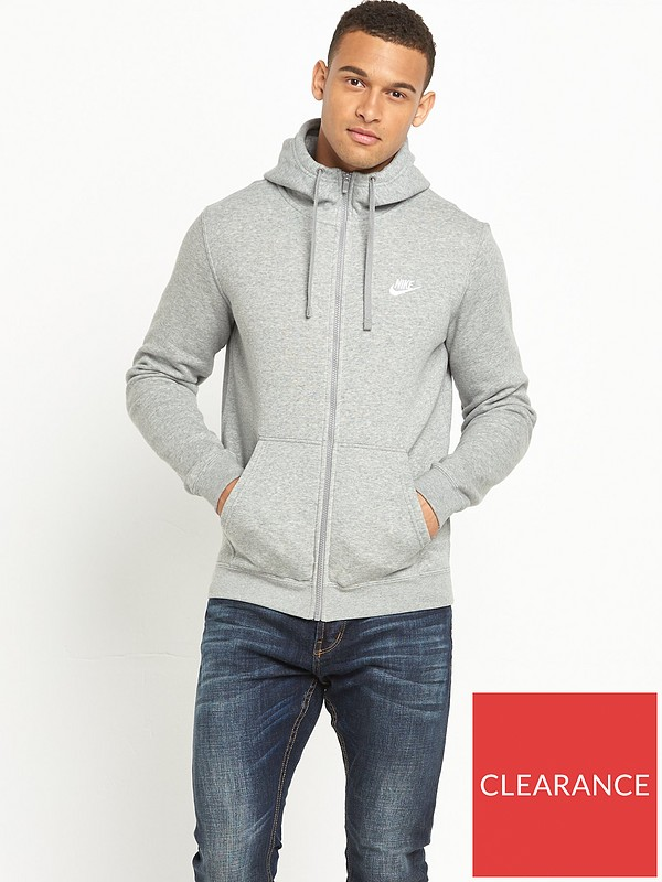 regarder modélisation durable nouvelles promotions Nike Sportswear Club Fleece Full Zip Hoody