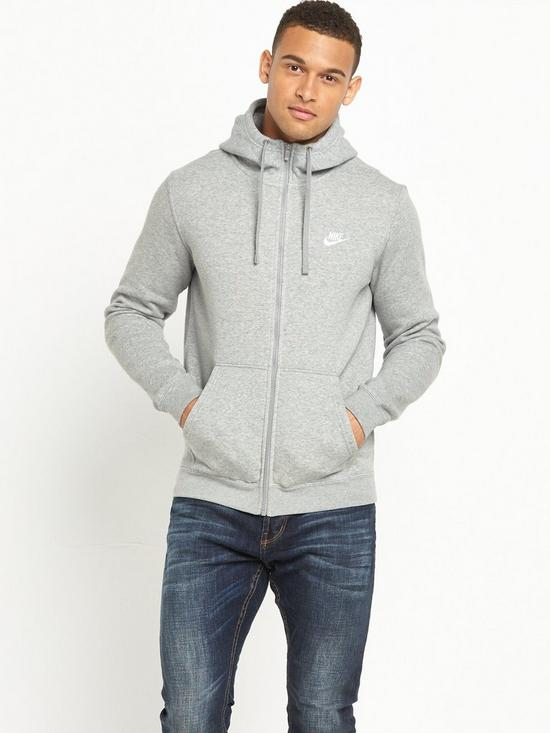 8c4faa3a2c75 Nike Nike Sportswear Club Fleece Full Zip Hoody