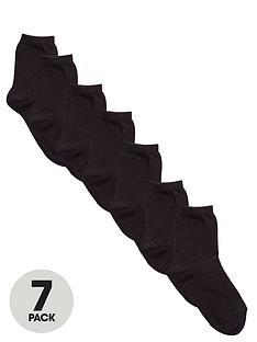 v-by-very-unisex-black-ankle-socks-7-pack