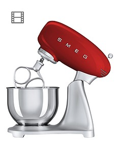 Smeg SMF01 Stand Mixer - Red