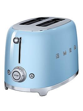 Smeg Tsf01 2-Slice Toaster - Blue