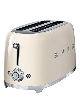 smeg tsf02 4 slice toaster cream. Black Bedroom Furniture Sets. Home Design Ideas