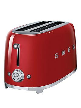 Smeg Tsf02 4-Slice Toaster - Red thumbnail