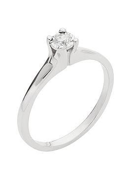 love-diamond-9-carat-white-gold-10-point-diamond-illusion-solitaire-ring