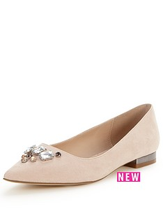 v-by-very-myrtle-lace-pointed-flat-with-embellishment