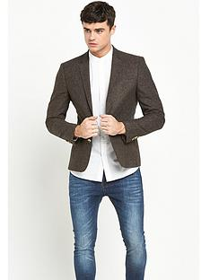 river-island-flecked-wool-skinny-fit-jacket