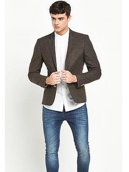 river-island-flecked-wool-skinny-fit-jacket