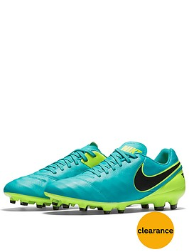 nike-tiemponbspgenionbspmens-leather-fg-football-boot-jadevoltblack