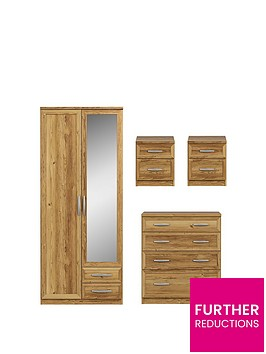 oslo-4-piece-bedroom-furniture-set-wardrobe-chest-and-2-bedside-cabinets