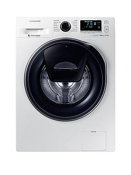 Samsung Ww80K6610Qw/Eu 8Kg Load, 1600 Spin Addwash&Trade; Washing Machine With Ecobubble&Trade; Technology And 5 Year Samsung Parts And Labour Warranty - White