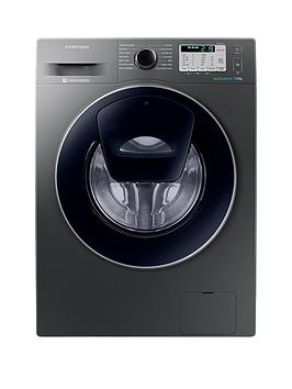 Samsung Ww70K5413Ux/Eu 7Kg Load, 1400 Spin Addwash&Trade; Washing Machine With Ecobubble&Trade; Technology And 5 Year Samsung Parts And Labour Warranty - Graphite