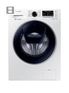 Samsung WW70K5410UW/EU 7kg Load, 1400 SpinAddWash™ Washing Machine with ecobubble™ Technology - White