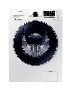 Samsung WW70K5410UW/EU 7kg Load, 1400 Spin AddWash™ Washing Machine with ecobubble™ Technology - White5 Year Samsung Parts and Labour Warranty