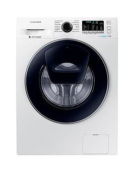 Samsung Ww70K5410Uw/Eu 7Kg Load, 1400 Spin Addwash&Trade; Washing Machine With Ecobubble&Trade; Technology And 5 Year Samsung Parts And Labour Warranty - White