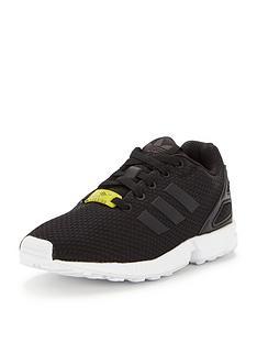 adidas-originals-zx-flux-childrens-trainer-blackwhitenbsp