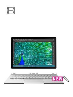 microsoft-surface-book-intelreg-coretrade-i7-processor-8gb-ram-256gb-ssd-touchscreen-2-in-1-laptop-with-nvidia-geforce-gpu-and-optional-microsoft-office-silver