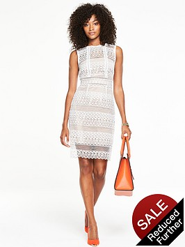 v-by-very-all-over-contrast-lace-mininbspdressnbsp