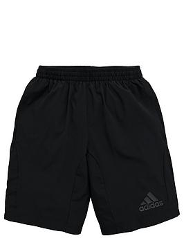adidas-older-boys-woven-shorts