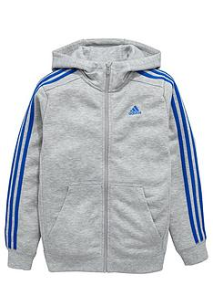 adidas-older-boys-ess-3-stripe-fz-hoody