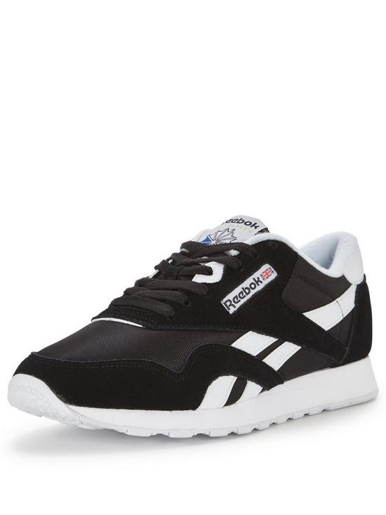 Reebok Classic Nylon Trainers  3cd97ffac