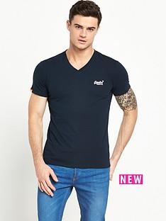 superdry-superdry-orange-label-v-neck-t-shirt