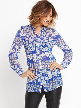 myleene-klass-blue-base-printed-blouse