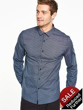 v-by-very-spot-print-shirt