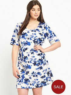 junarose-curve-short-sleeve-shift-dress
