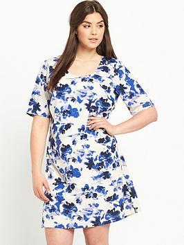 junarose-curve-short-sleeve-shift-dress
