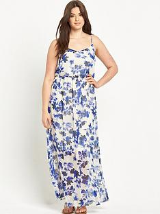 junarose-curvenbspstrappy-maxi-dress