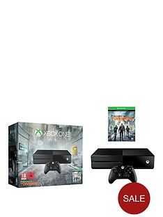 xbox-one-tom-clancys-the-division-1tb-console-with-optional-extra-controller-and-12-month-xbox-live-subscription