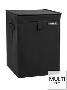 brabantia-stackable-laundry-box-black