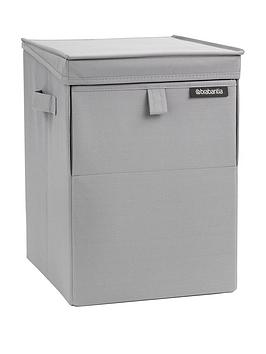 brabantia-stackable-laundry-box-grey