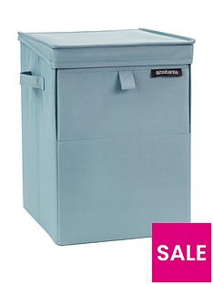 brabantia-brabantia-stackable-laundry-and-storage-box-mint-blue