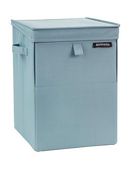 Brabantia Brabantia Stackable Laundry And Storage Box, Mint Blue