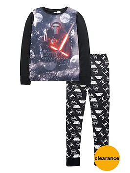 star-wars-starwars-kylo-ren-long-sleeve-pyjamas