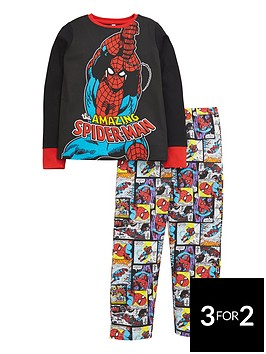 spiderman-amazing-all-over-print-long-sleeve-pyjamas
