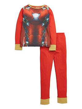 marvel-iron-man-long-sleeve-pyjamas