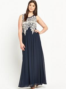 ax-paris-curve-lace-maxi-dress