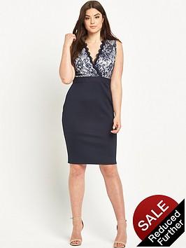 ax-paris-curve-lace-front-bodycon-dress