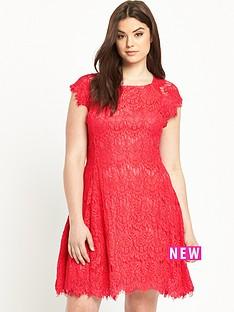 ax-paris-eyelash-lace-dress