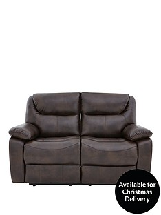 partonnbspluxury-faux-leather-2-seater-manual-recliner-sofa