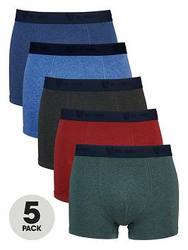 v-by-very-5-pack-marl-trunks