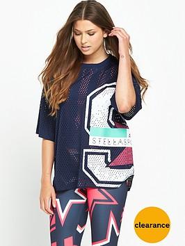 adidas-stellasport-mesh-t-shirt-navy
