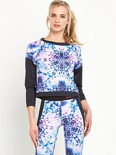 juicy-sport-prism-floral-compression-sweat