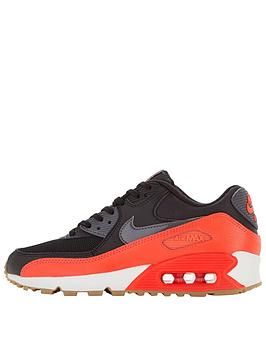vbbws Nike Air Max 90 Fashion Shoe - Black/Red | very.co.uk