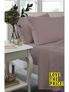 catherine-lansfield-non-iron-plain-dyed-percale-fitted-sheet