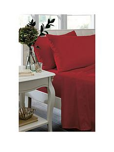 catherine-lansfield-non-iron-plain-dyed-percale-housewife-pillowcase