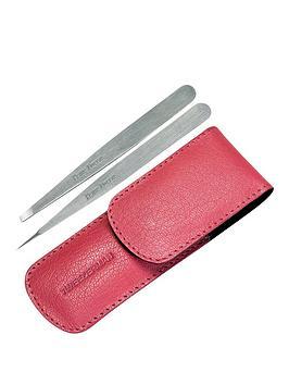 tweezerman-petite-tweeze-set-with-pink-case
