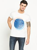 Circle Graphic Short SleeveT-Shirt